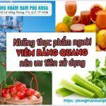 Viêm Bàng Quang Nên Ăn Gì Và Kiêng Ăn Gì