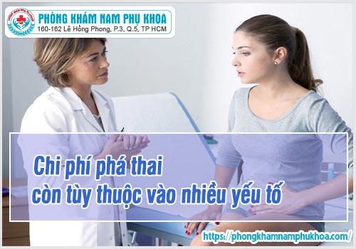chi phi pha thai