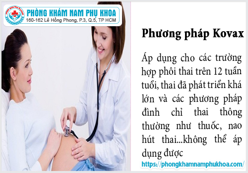 thai bao nhieu tuoi co the pha thai bang phuong phap kovax