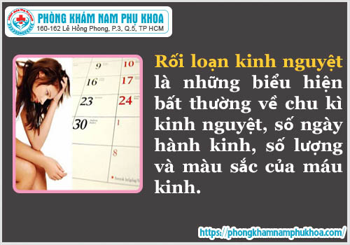 cach dieu tri roi loan kinh nguyet