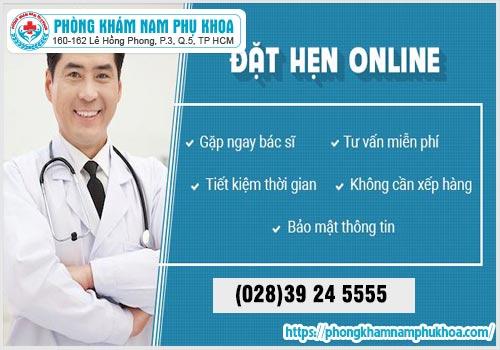 Lợi ích khi đặt hẹn lịchkhám sức khỏesinh sản trựctuyếntại phòngkhámHồngPhong