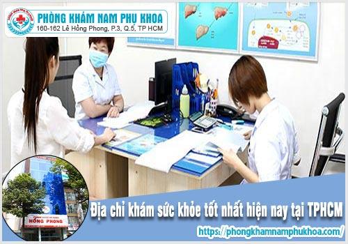 Địa chỉ khám sức khỏe sinh sản ở TPHCM