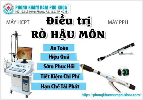 Ưu điểm của công nghệ PPH HCPT trong điều trị rò hậu môn tại PKĐK Hồng Phong