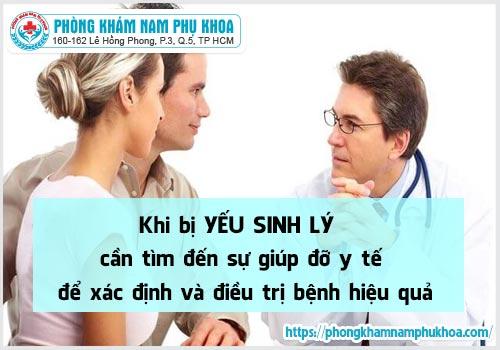 Yếu sinh lý cần được thăm khám và chữa trị bệnh sớm