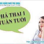 Có Bao Nhiêu Phương Pháp Phá Thai 1 Tuần Tuổi Hiện Nay