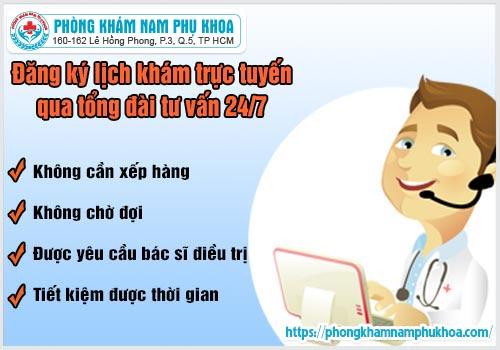 Lợi ích khi đặt hẹn lịch khámtiết niệu trực tuyến tại PKĐK HồngPhong