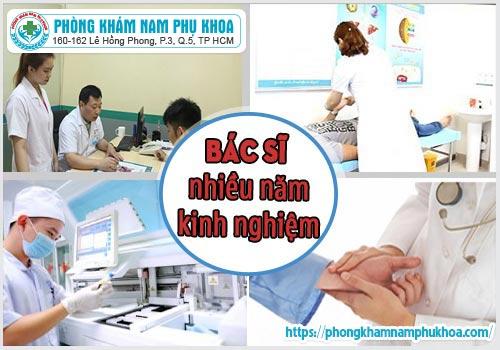 Các y bác sĩ giàu năm kinh nghiệm tại PKĐKHồngPhong