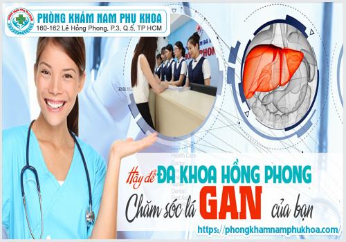 phòng khám Hồng Phong điều trị bệnh gan như thế nào