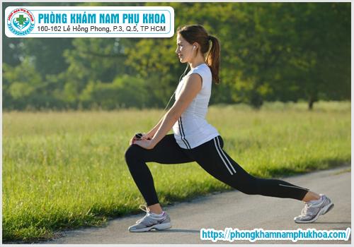 Tập thể dục hàng ngày giúp điều trị kinh nguyệt không đều