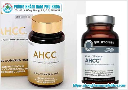 Hướng dẫn cách sử dụng thuốc AHCC trị sùi mào gà