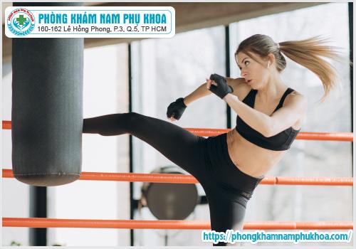 Tập võ thuật cũng có thể gây rách màng trinh