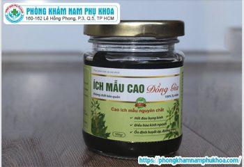 thuoc-cao-ich-mau-co-pha-thai-duoc-khong