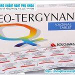 Thuốc Đặt Phụ Khoa Neo-Tergynan Điều Trị Bệnh Gì