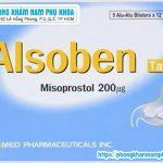 Alsoben Misoprostol 200mg Là Thuốc Gì Và Có Công Dụng Ra Sao