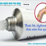 Có Nên Tự Sử Dụng Thuốc Bôi Viêm Bao Quy Đầu Hydrocortisone