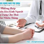 Phương Pháp Hút Điều Hòa Kinh Nguyệt Áp Dụng Cho Thai Bao Nhiêu Tháng