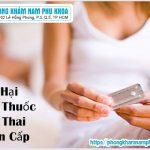 Tác Hại Của Thuốc Phá Thai Khẩn Cấp